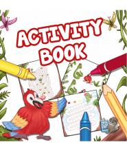 Kniha plná aktivit - Activity Book - v anglickém jazyce