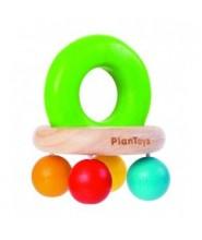 PlanToys Chrastítko s korálky